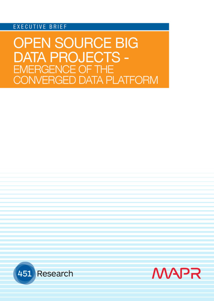 Open Source Big Data Projects – Emergence of the Converged Data Platform