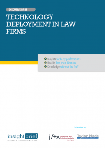 Technology Deployment in Law Firms