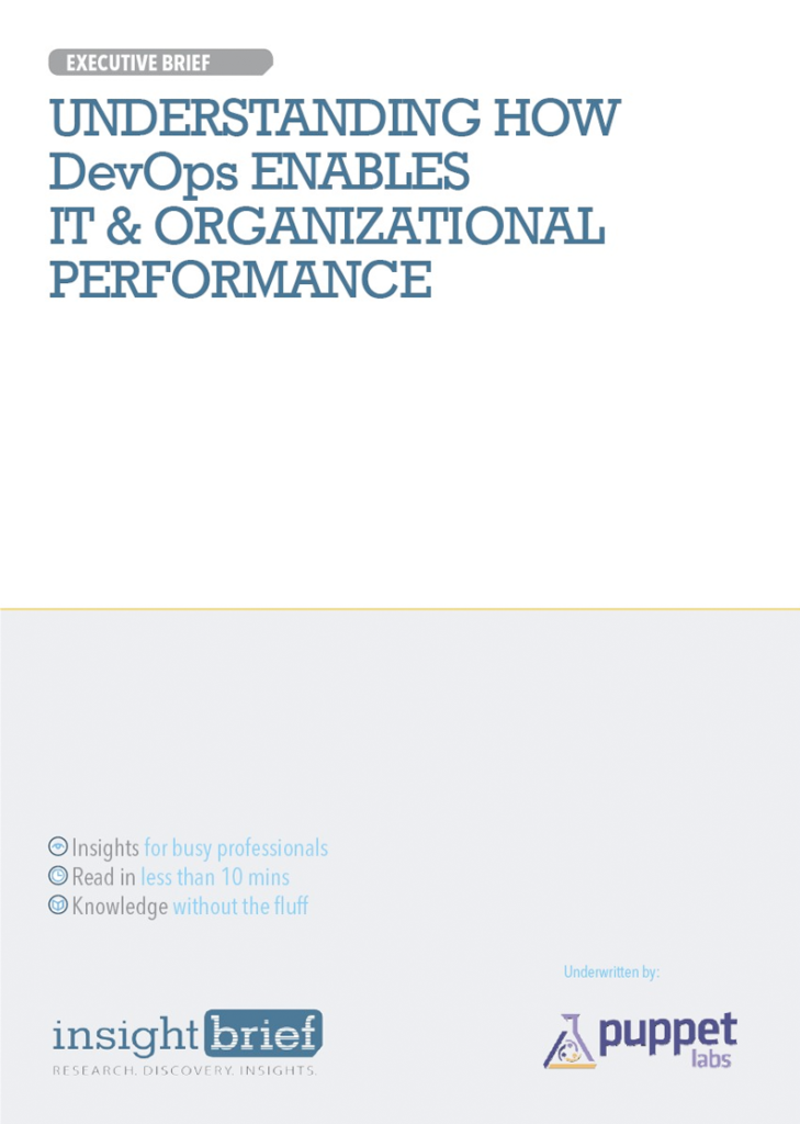 Understanding How DevOps Enables IT and Organizational Performance
