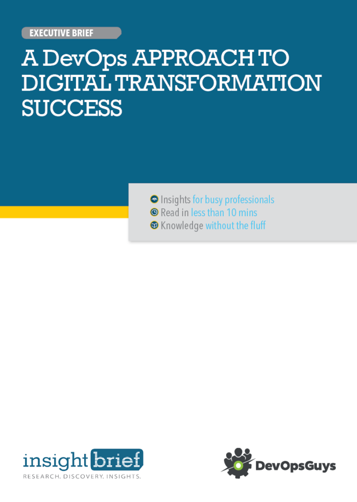 A DevOps Approach to Digital Transformation Success