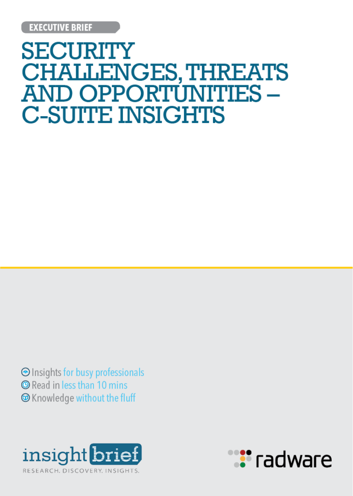 Security Challenges,Threats and Opportunities – C-Suite Insights