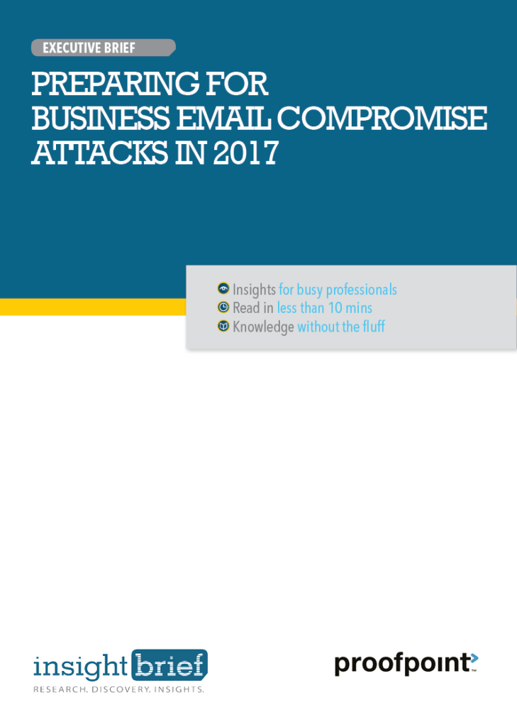 Preparing for Business Email Compromise Attacks in 2017