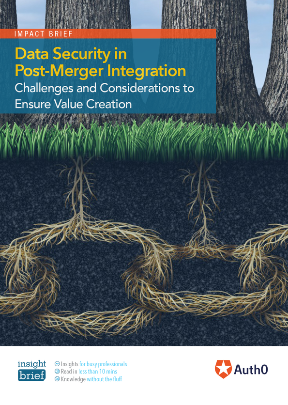 Data Security in Post-Merger Integration