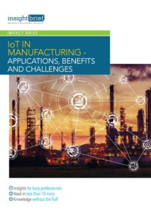 IoT in Manufacturing – Applications, Benefits and Challenges
