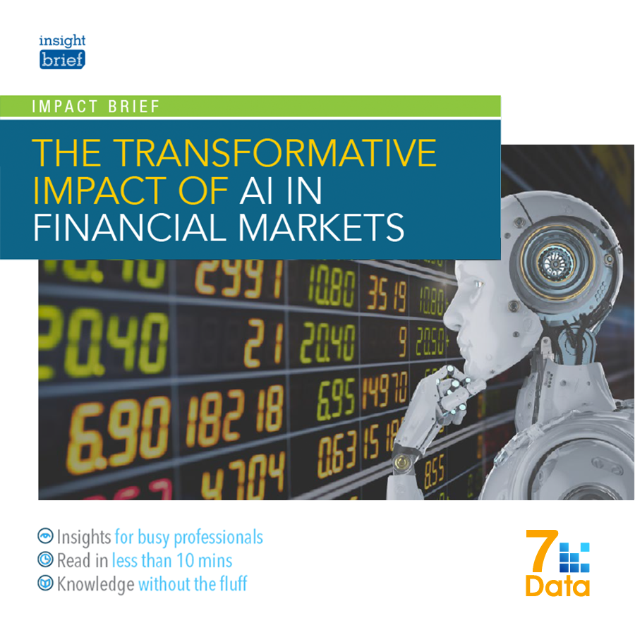 The Transformative Impact of AI in Financial Markets