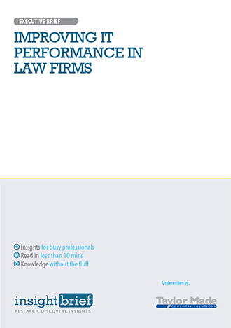 Improving IT Performance in Law Firms