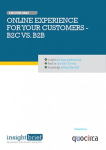 Online Experience For Your Customers – B2B Vs.B2C