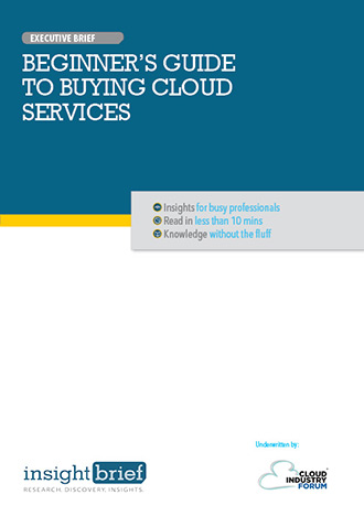 Beginner's Guide to Buying Cloud Services