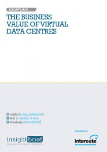 The Business Value of Virtual Data Centres