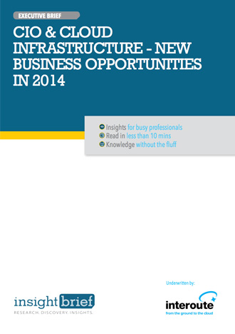 CIO and Cloud Infrastructure – New Business Opportunities in 2014