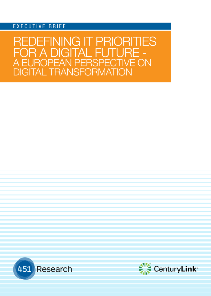 Redefining IT Priorities for a Digital Future – A European Perspective on Digital Transformation