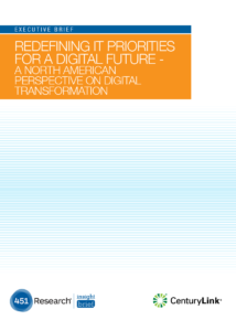 Redefining IT Priorities for a Digital Future – A North American Perspective on Digital Transformation