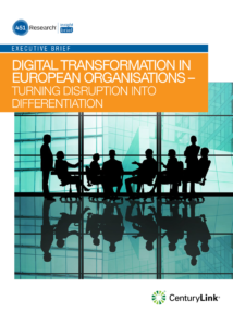 Digital Transformation in European Organisations —Turning Disruption into Differentiation