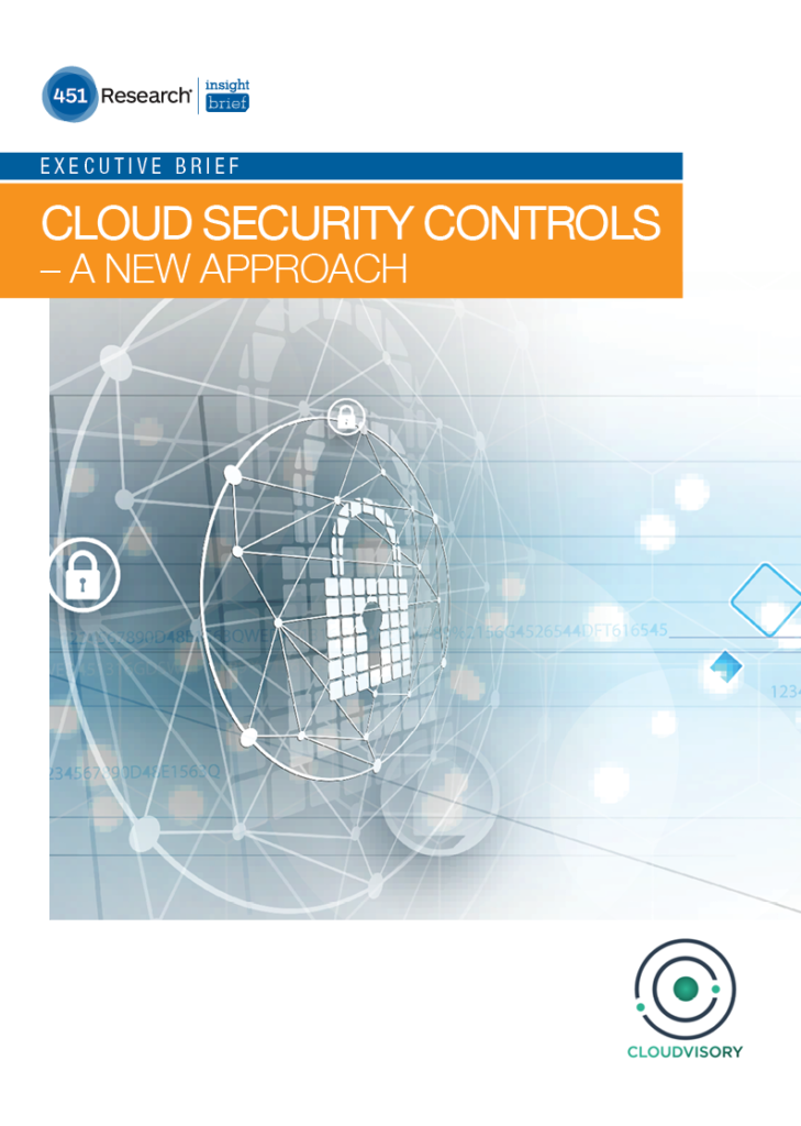 Cloud Security Controls – A New Approach