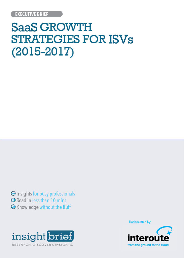SaaS Growth Strategies for ISVs (2015-2017)