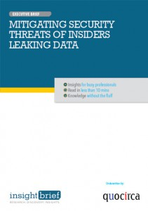 Mitigating Security Threats of Insiders Leaking Data